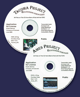 Tacoma-Ames Licensing Application DVDs