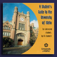 Cover of A Student's Guide to the University of Idaho